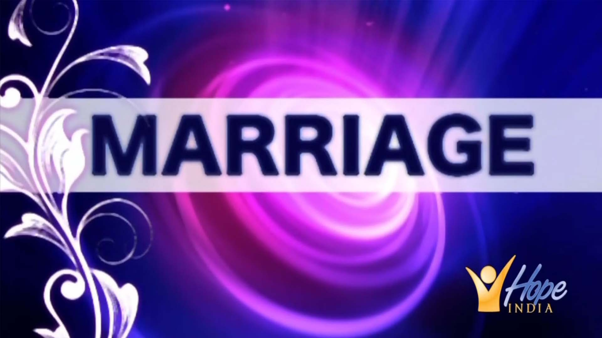 Marriage - God's Perfect Plan